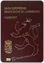 Passport index / rank of Luxembourg 2020