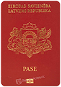 Passport of Latvia