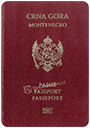Passport of Montenegro