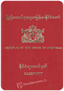 Passport of Myanmar [Burma]