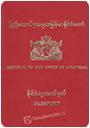 Passport index / rank of Myanmar [Burma] 2020