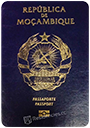Passport of Mozambique