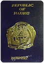 Passport of Nauru