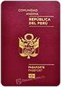 Passport of Peru