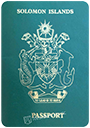 Passport of Solomon Islands