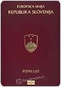 Passport of Slovenia