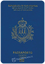 Passport of San Marino