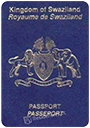Passport index / rank of Eswatini 2020