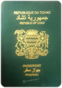 Passport of Chad