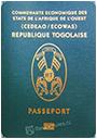 Passport index / rank of Togo 2020