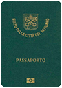Passport of Vatican City