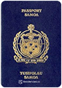 Passport index / rank of Samoa 2020