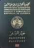 Passport of Algeria