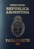 Passport of Argentina