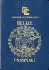 Passport of Belize