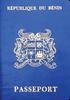 Passport of Benin