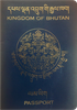 Passport of Bhutan