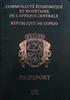 Passport of Congo