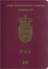 Passport of Denmark