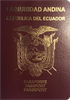 Passport of Ecuador