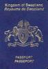 Passport of Eswatini