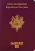 Passport of France