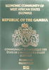 Passport of Gambia