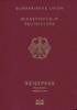 Passport of Germany