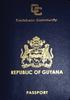 Passport of Guyana