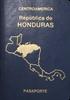 Passport of Honduras