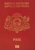 Passport of Latvia
