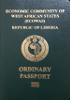 Passport of Liberia