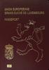 Passport of Luxembourg