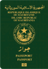 Passport of Mauritania