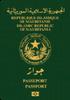 Passport of Mauritania