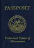 Passport of Micronesia