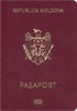 Passport of Moldova