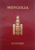 Passport of Mongolia
