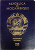 Passport of Mozambique