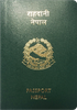 Passport of Nepal