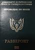 Passport of Niger