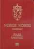 Passport of Norway