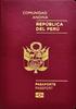 Passport of Peru