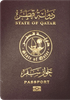 Passport of Qatar