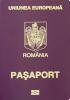 Passport of Romania