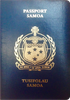 Passport of Samoa