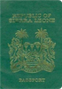 Passport of Sierra Leone