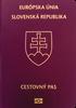 Passport of Slovakia