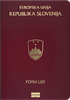 Passport of Slovenia