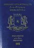 Passport of Somalia
